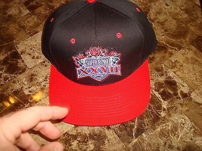 DALLAS COWBOYS SUPER BOWL XXVII 90'S HAT CAP VINTAGE SNAPBACK