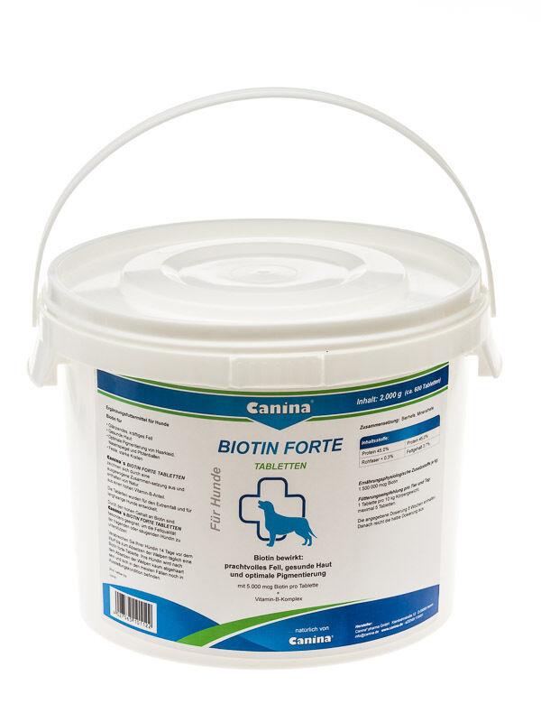 Canina Pharma Biotina Forte Pastillas para   Hasta - 30% para