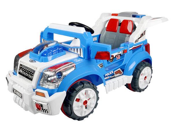 Kinderauto Spielzeug Auto Elektroauto Kinder Rennwagen Cars Polizei Fahrzeug