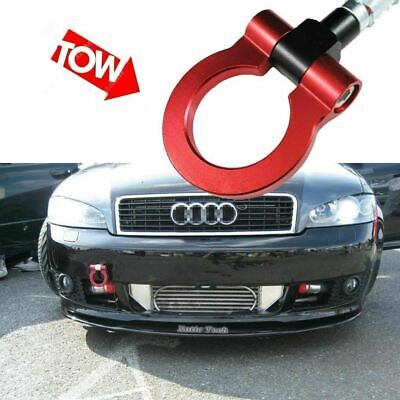 black Xotic Tech Direct 1 Set Front Tow Hook License Plate Bumper Mounting Bracket Fit Audi A4 A5 S4 S5 RS5 RS7 A7 S7 A3