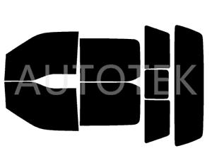 Precut Window Tint Automotive Film Visor Only Fits 2017-2019 Ford F-250 F-350
