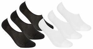 REDTAG 3 Pack Ladies Invisible Sport Footies Socks UK Size 4-8