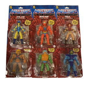 Details about  /2020 Masters of the Universe Origins COMPLETE Set lot of 6 Figures He-Man!