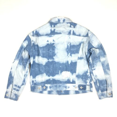 Størrelse Jacket Tie Made Trucker 0 Boxy Blue 298 Crafted 191291699759 Dye Womens Levis wqHxgAYq