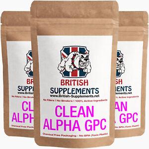 Clean-alphaa-GPC-323mg-piu-forte-il-cervello-FOCUS-imparare-memoria-Integratori-Britannico