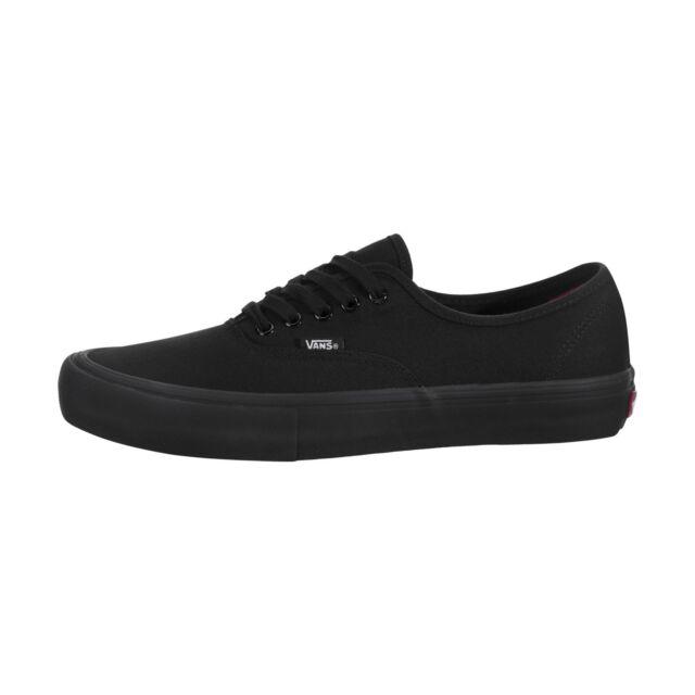 VANS Authentic Pro Skate SNEAKERS Black black 10.5 for sale online ... 32c12503f