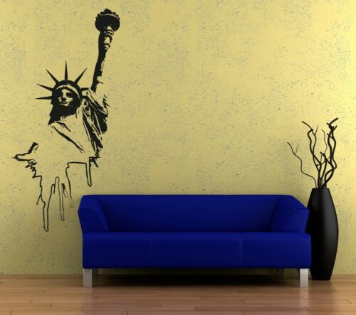 new york, Wall Art sticker transfer bedroom,lounge,statue of liberty usa
