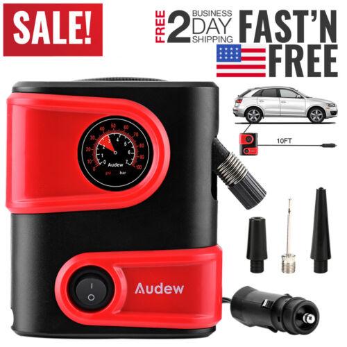 ANDEW 12V 150PSI Car Air Compressor Auto Tire Inflator Electric Portable Pump A+