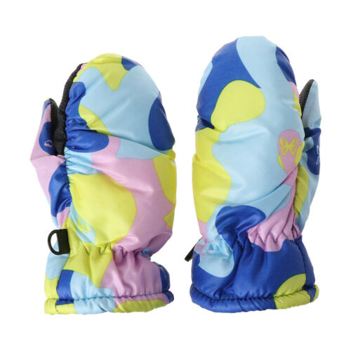 Baby Winter Waterproof Warm Mittens Boy Girl Kids Children Outdoor Ski Gloves