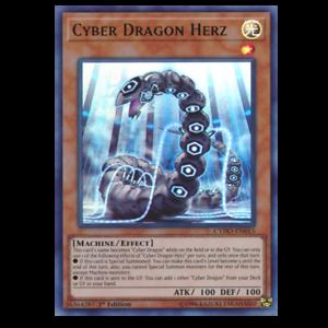Carte YU GI OH CYBER DRAGON HERZ MP19-FR086
