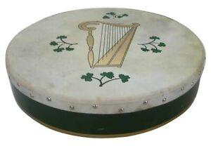 Irish Bodhran mit HARP Logo, 18 x 3,5 Zoll, B-Ware
