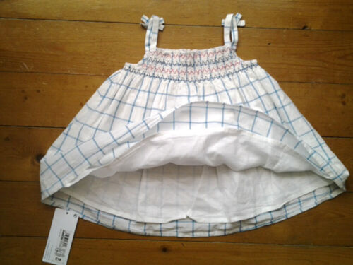 M/&S Baby Girls Adorable 3 Part Dress Pants /& Hat Set Age 3-6 Months BNWT Tag £16
