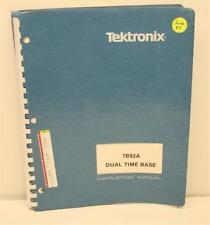 Tektronix 7B92A Dual Time Base Inst Manual w/SCHEMATICS