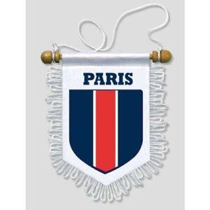 FANION-VOITURE-PARIS-13-X-15-CM-BLASON-ECUSSON-FOOT