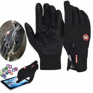 Chaud-Gants-d-039-hiver-a-Ecran-Tactile-Plein-Doigt-Coupe-vent-Pour-Moto-VTT-Sports