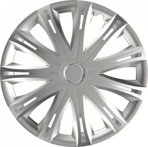 "15/"" Vauxhall Vivaro Van Wheel Trims Hub Caps Set Of 4 Spark Silver Brand New"