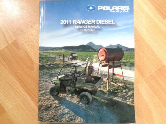 Polaris 2011 Ranger Diesel Factory Service Repair Manual
