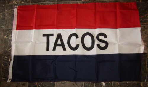 3x5 Advertising Tacos Flag 3/'x5/' Brass Grommets Fade Resistant Premium