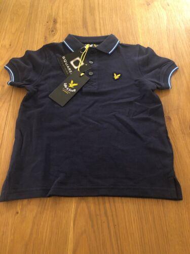 New Boys Genuine Lyle And Scott Polo Shirts