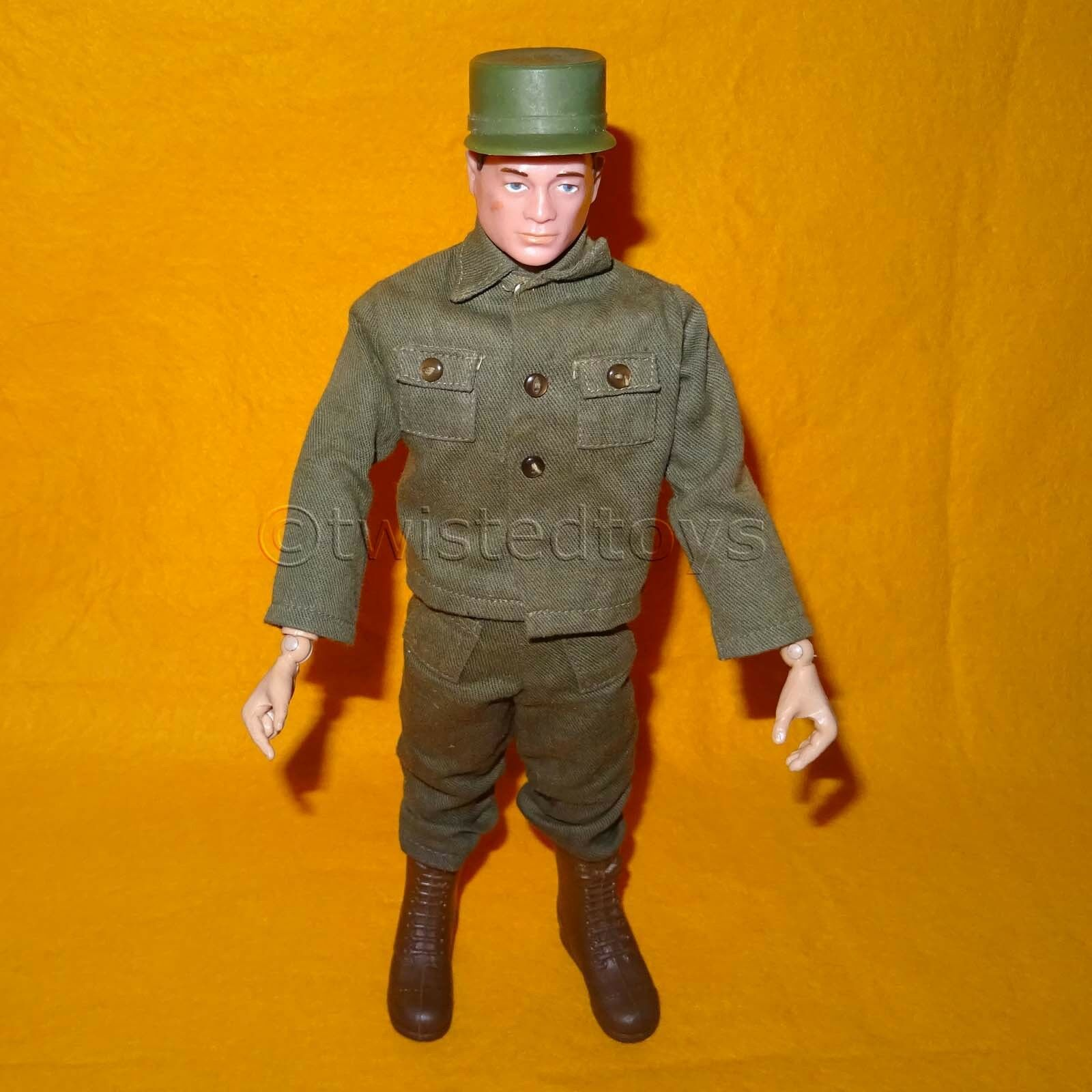 VINTAGE 1964s 60s HASBRO G.I. GI JOE ACTION MAN SOLDIER PAINTED HAIR DOLL FIGURE