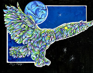 Once-in-a-Blue-Moon-8X10-OWL-Print-from-Artist-Sherry-Shipley
