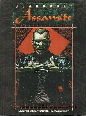Clanbook: Assamite, - Una Fame Di Vendetta, Vampiri La Masquerade Fonte Di Riferimento-mostra Il Titolo Originale