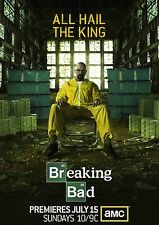Breaking Bad Season 5 TV Poster 24x36 - Bryan Cranston, Aaron Paul - NEW