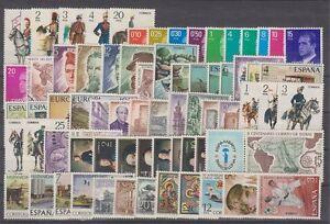 ANO-1977-COMPLETO-NUEVO-SIN-FIJASELLOS-MNH-ESPANA-EDIFIL-2381-2450-SPAIN