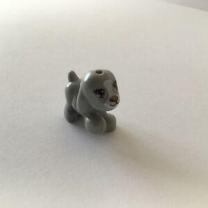 Lego Friends Kleiner Hund Welpe Tier grau NEU