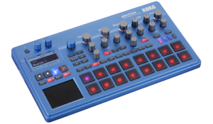 Korg-Electribe-Synthesizer-Music-Production-Station-Synth-amp-Sequencer-Blue