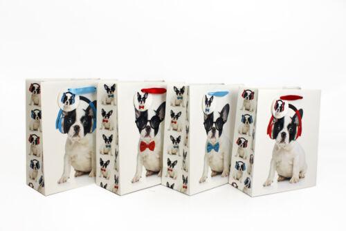 Sacs de papier de luxe parti kraft avec poignées-Cadeau Mariage butin sacs Poule Halloween