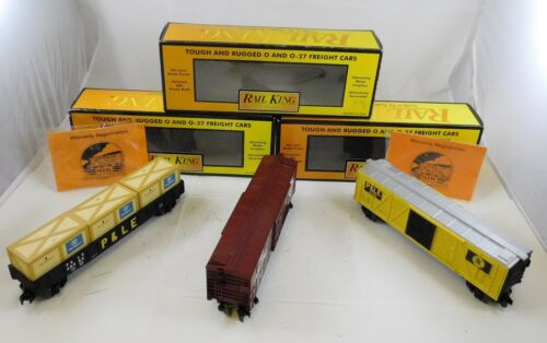 Mth 30 Pour Train 7428 Trains 7146 King 72026 W Box 30 Remise 30 3 Des Voitures Gondoles wIqIOt