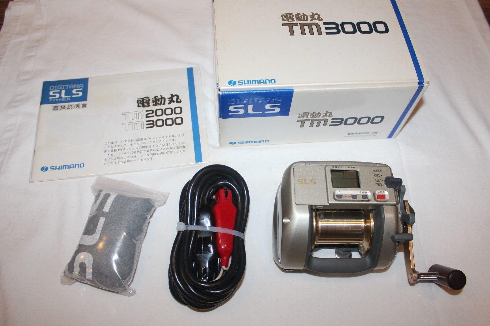 SHIMANO DENDOUMaru TM 3000nel OVPelektrorolleMade in Japannr991