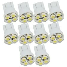 100x White T10 4SMD W5W 168 LED Bulb Panel Dashboard Gauge Cluster Lights