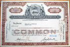 1962 Stock Certificate: 'Illinois Central Railroad Company' - IL RR