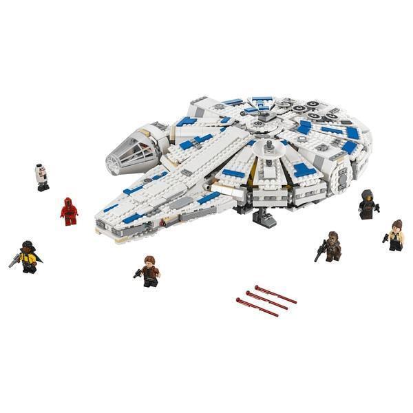 LEGO Star Wars Kessel Run Movie Millennium Millennium Millennium Falcon Space Building Set Han Solo UK 441c07