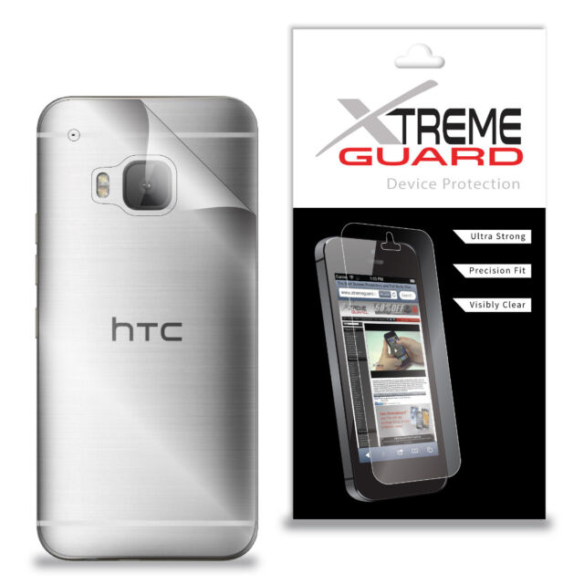 Genuine XtremeGuard BACK ONLY Screen Protector For HTC One M9 (Anti-Scratch)