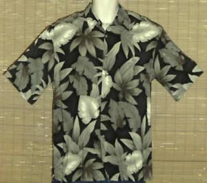 CAMPIA MODA Hawaiian Shirt Black Green Medium