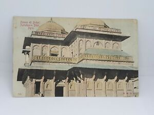 Palace-of-Birbol-Futtehpore-Sikri-Agra-Antique-Postcard