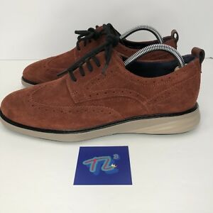 94d50a8262b0 Men s Cole Haan GrandEvolution Wingtip Oxford Size 8.5 Brandy Brown ...
