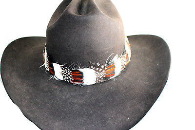 New Hand Beaded Horse Hatband Tassles Rodeo Cowboy Turquoise Multi Adjustable HH
