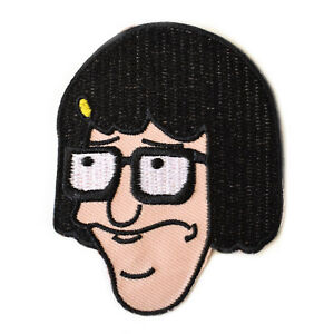 Tina-Belcher-Iron-On-Patch-Bob-Burgers-Embroidered-Sew-On