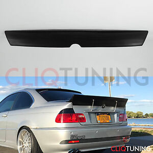 Details About Bmw E46 Coupe Ducktail Wing 2door Trunk Spoiler For Drift Track