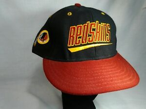 Image is loading Washington-Redskins-Script-Snapback-Hat-1990s-era-VINTAGE- 7025d6798