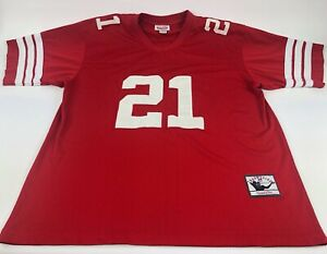 best sneakers 96af1 4bcde Vintage San Franciso 49ers Deion Sanders Jersey Mitchell And ...