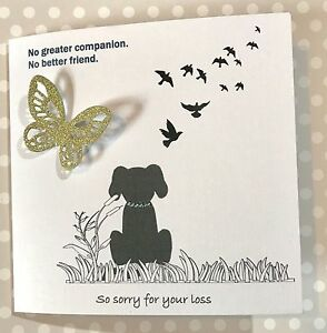 Details About Beautiful Handmade So Sorry For Your Loss Card