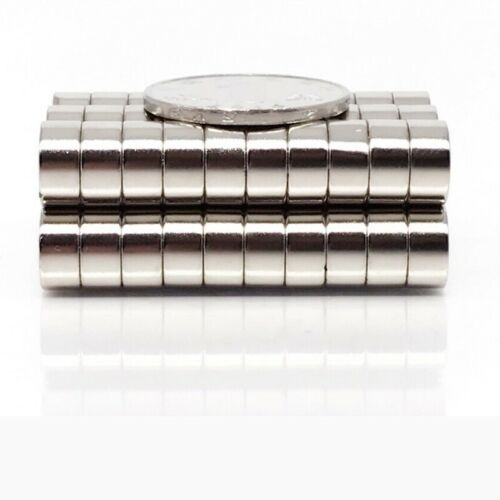 4x4 mm Neodymium Magnets Disc Small Round Magnet Craft Fridge