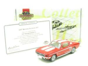Matchbox-Collectibles-DY016-D-M-1967-Ford-Mustang-Fastback-2-2-Rojo-1-43-Escala
