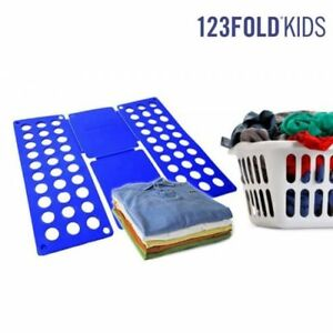 astuce repassage planche plier le linge plieur de v tements enfants ebay. Black Bedroom Furniture Sets. Home Design Ideas