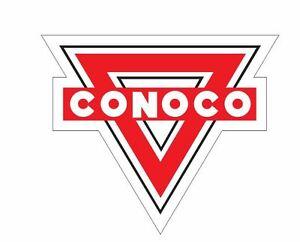 Conoco-Sticker-R265-Racing-Race-Car